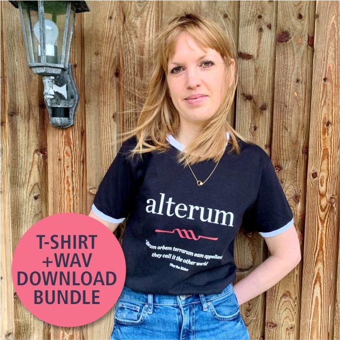 alterum Ringer Vintage-Style T-Shirt + WAV Downloads Bundle