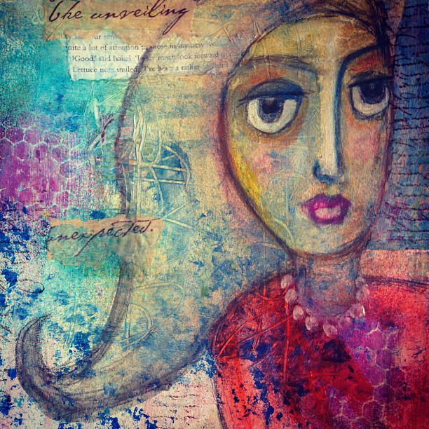 From pulled art to honest page : an art journal true story