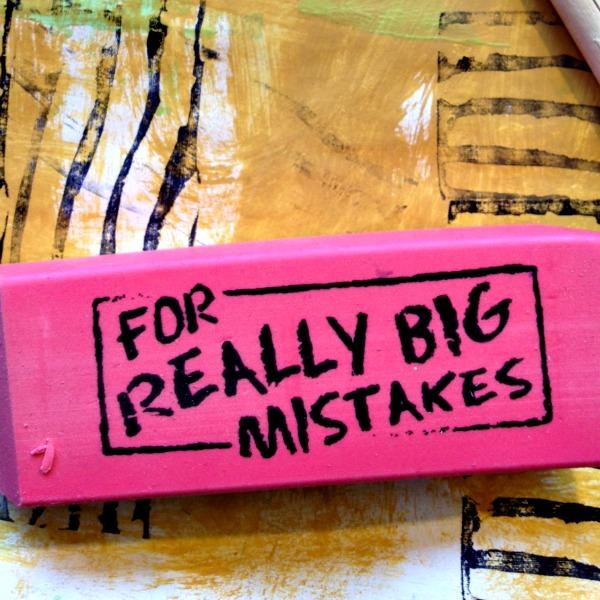 eraser for stamping