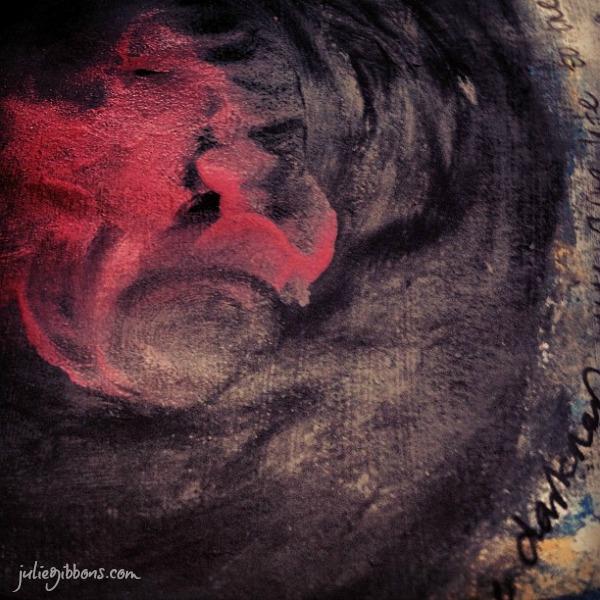 Fire Within Mandala Art