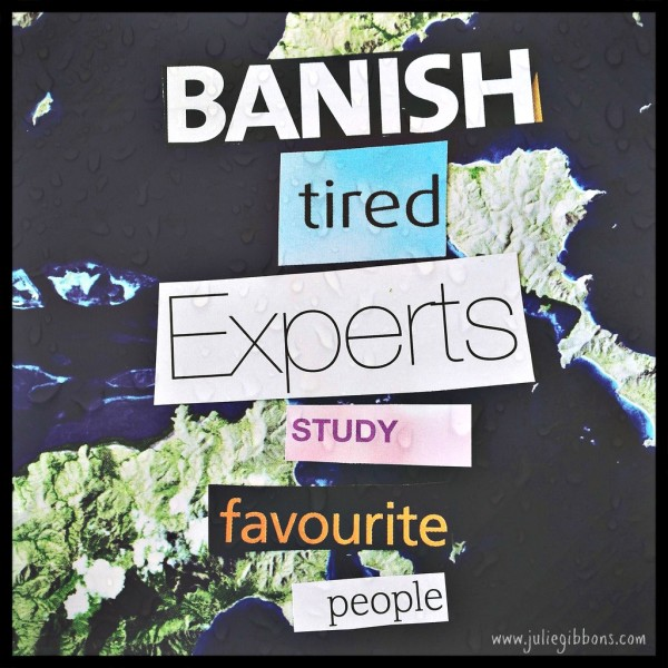 banish tired experts