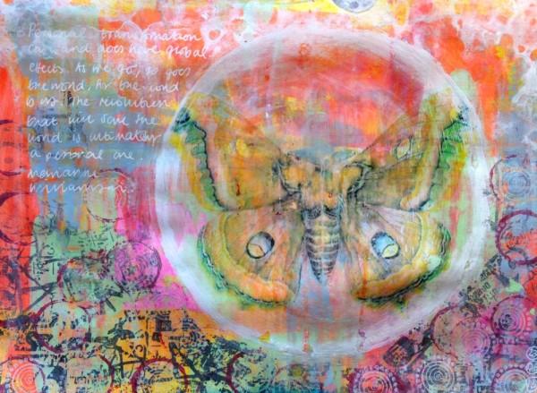 Butterfly Mandala Art Journal