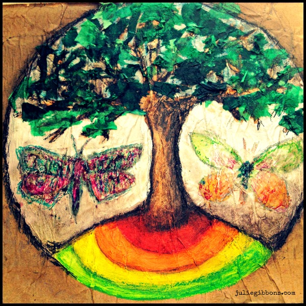 Great Round of Mandala Stage Seven Tree Mandala