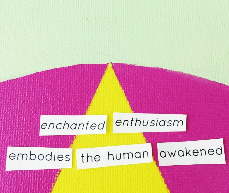 enchanted enthusiasm mandala