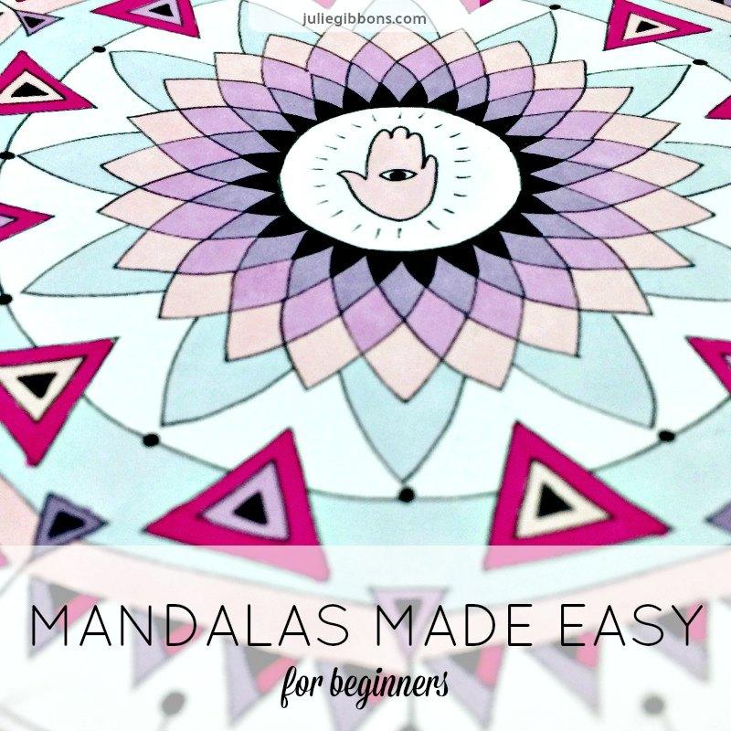 MANDALAS MADE EASY BADGE