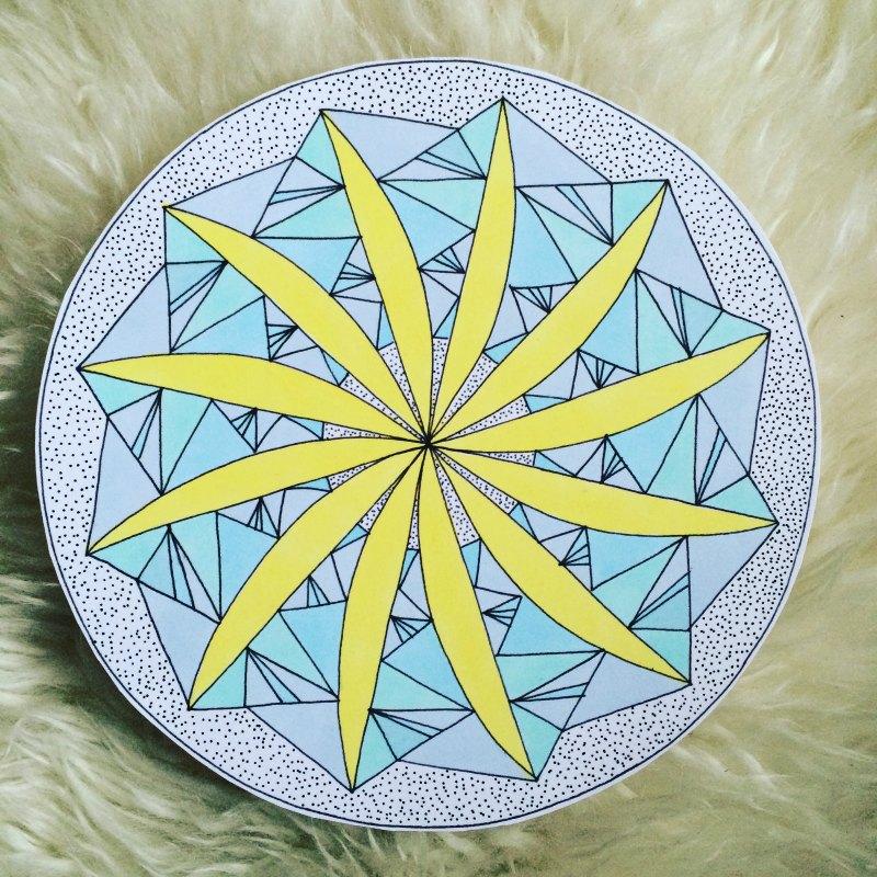 Ice Blade Mandala image