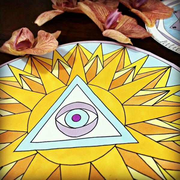 Sol Fire Mandala Image