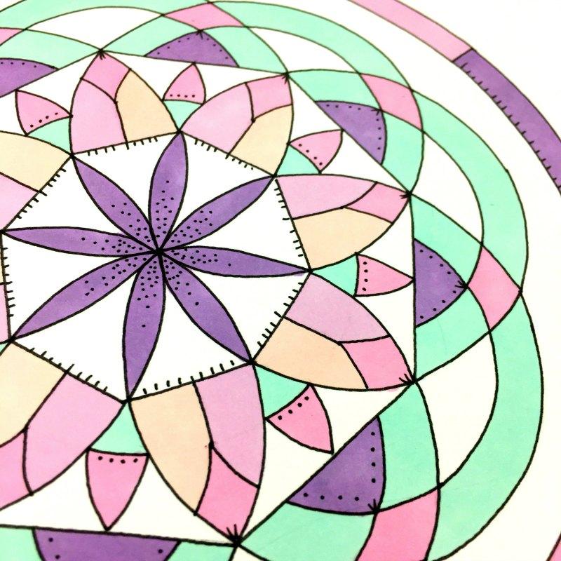 Salvation Mandala Closeup Image
