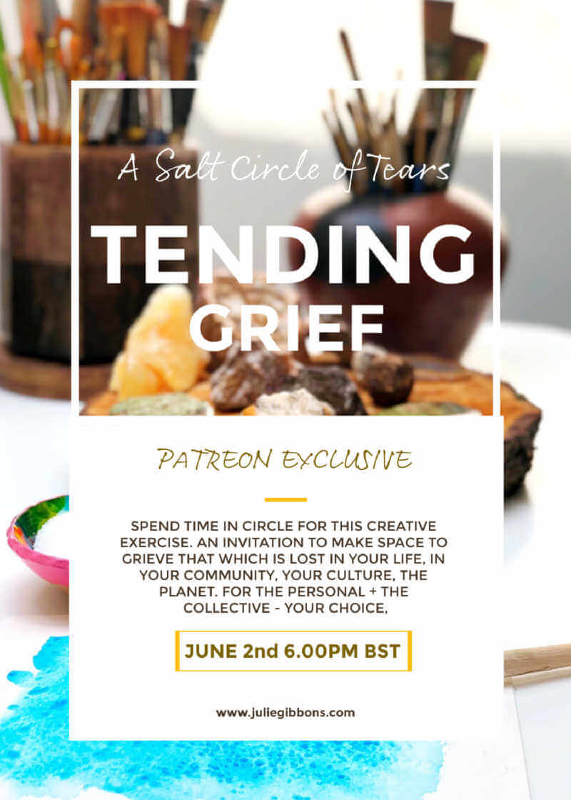 Tending Grief : Event Flyer