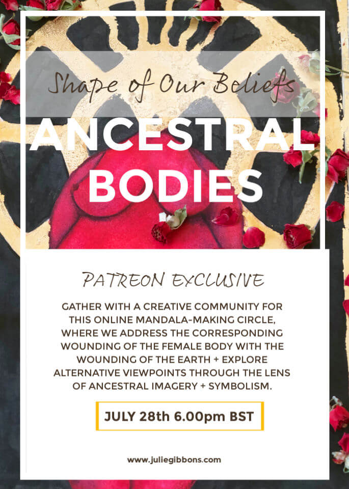 Ancestral Bodies Patreon Event Flyer