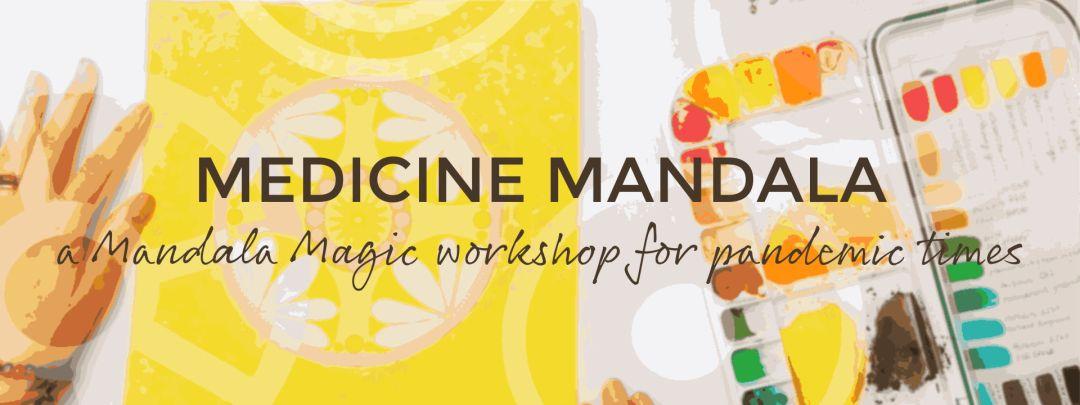 Medicine Mandala Page Banner