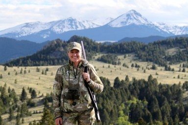 Bear hunting in Montana
