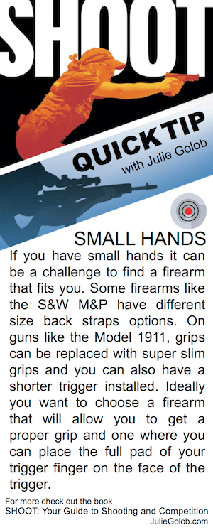SHOOT Tip - Small Hands