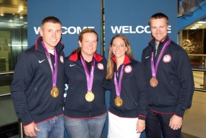 USA Shooting's 2012 Olympic Medalists - Photo Courtesy of USA Shooting