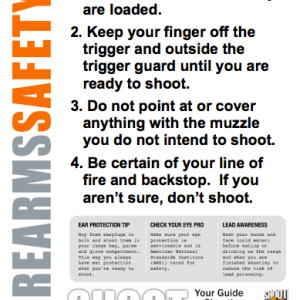 Firearm Safety Rules