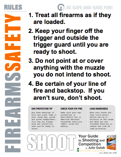Obsessed image with regard to printable gun safety rules