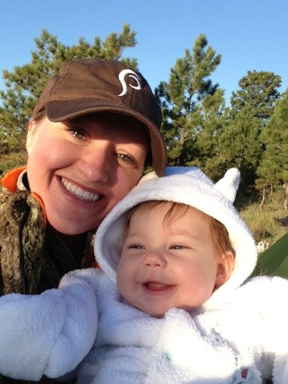 Julie Golob - Hunting with my Baby Girl
