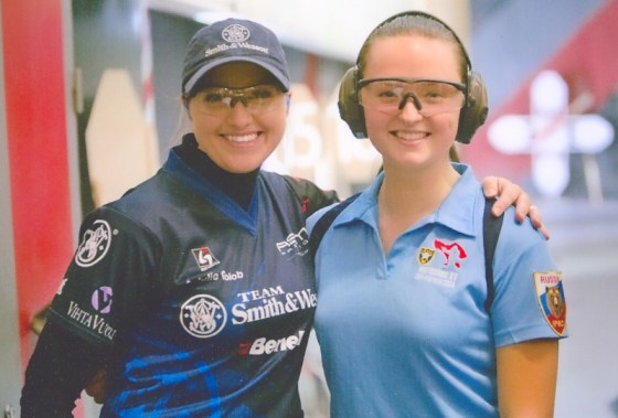 I had the chance to compete with Maria on her home turf in Russia at the 2011 IPSC Moscow Open. Photo courtesy of the Object Range.