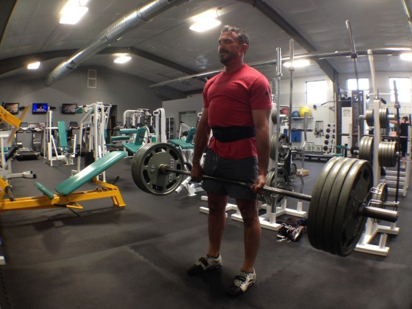 #SHOOTFIT - SEAL Jeff Gonzales in the Gym