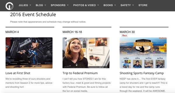 2016_March_schedule_julie_golob
