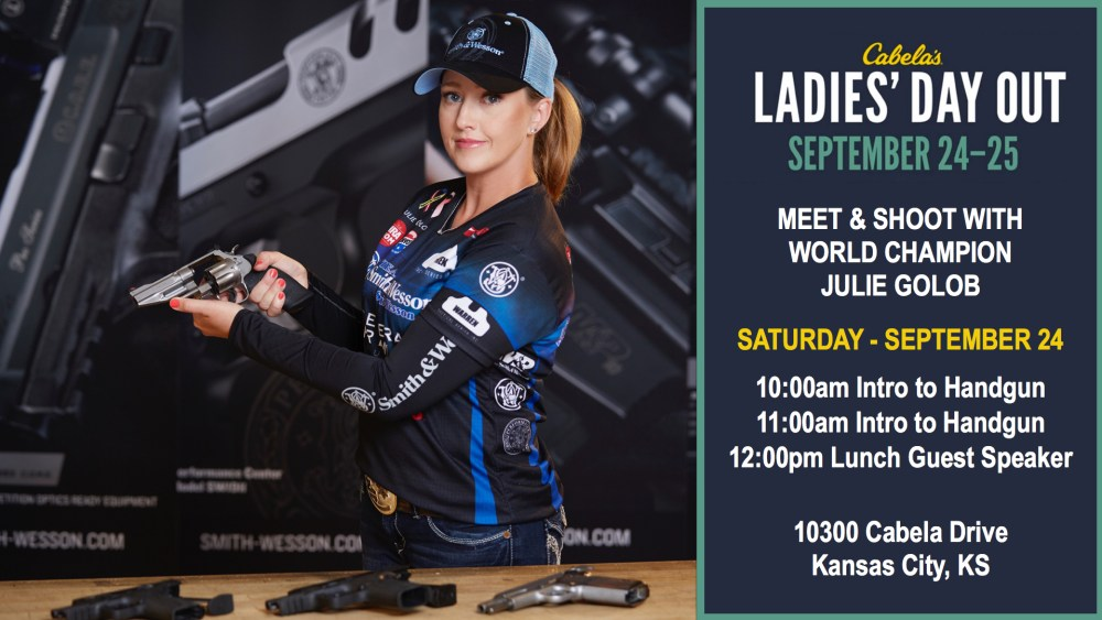 Meet Julie Golob at the Cabela's Ladies Day Out in Kansas City