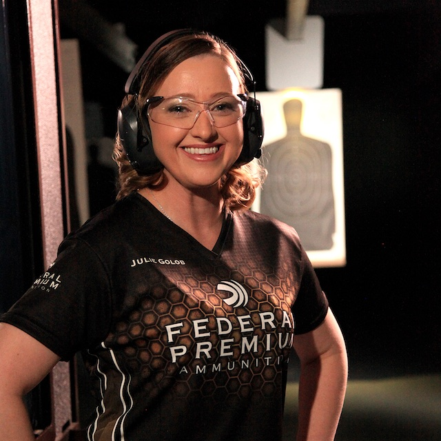 Julie Golob Shoots Federal Premium
