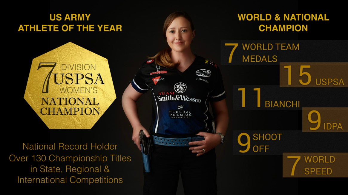 Julie Golob - Trophy Case