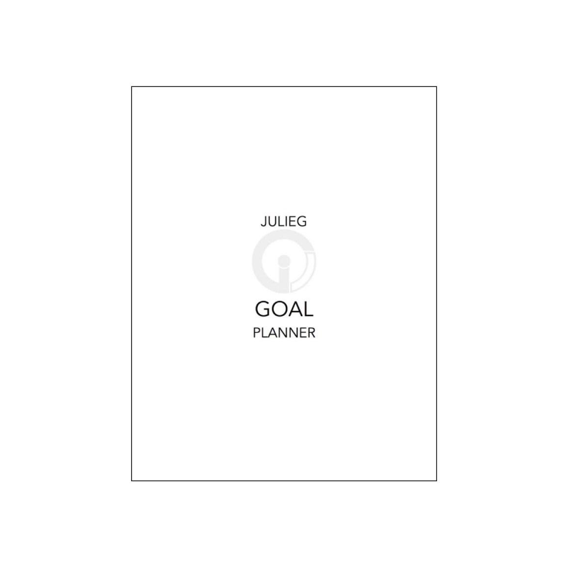 Shop - JulieG Goal Planner