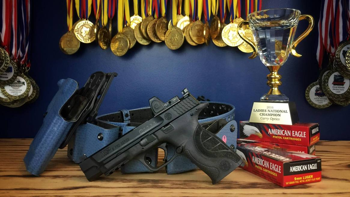 Julie's Winning USPSA Carry Optics Gear