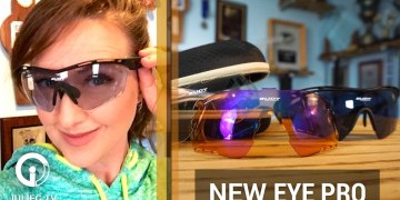 Rudy Project Eye Protection Tralyx XL Shooting Kit #Video + GIVEAWAY | JulieG.TV