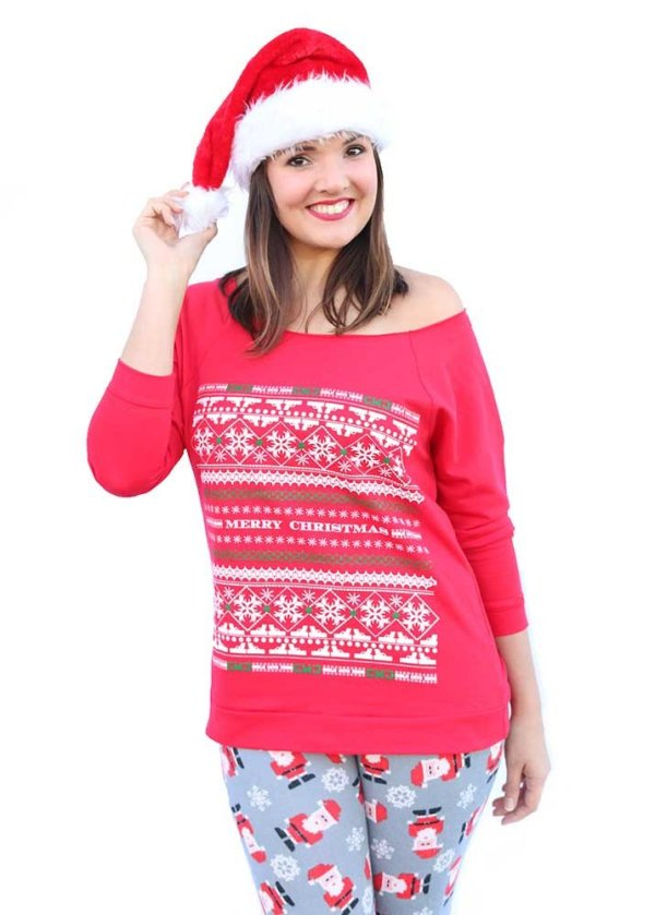 Girls With Guns Ugly Christmas Sweater
