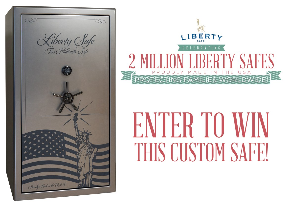 Liberty 2 Millionth Safe GIVEAWAY!