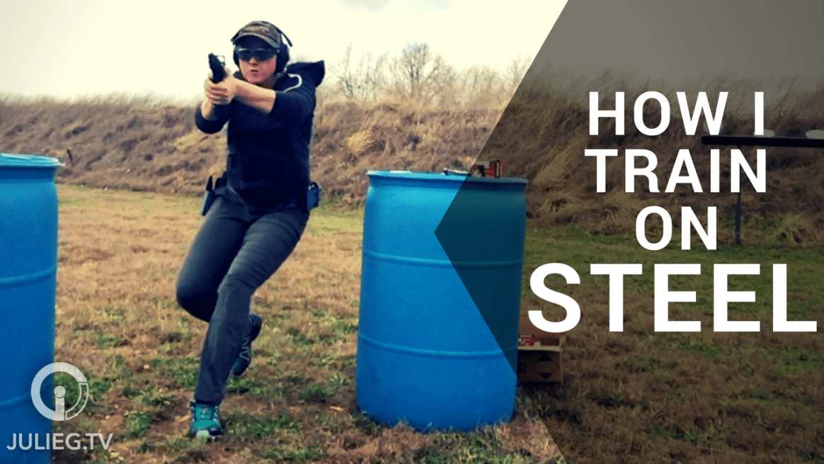 How I Train - Steel Target Shooting with Julie Golob