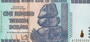 Zimbabwe dollars Credit Mo Cuishle, Wikimedia Commons