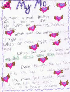 Letter from adopted daughter on Mother's Day