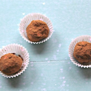 Rich Chocolate Truffles For Valentine's Day (gluten-free & vegan)