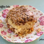 Peach Coffee Cake (gluten-free + vegan)