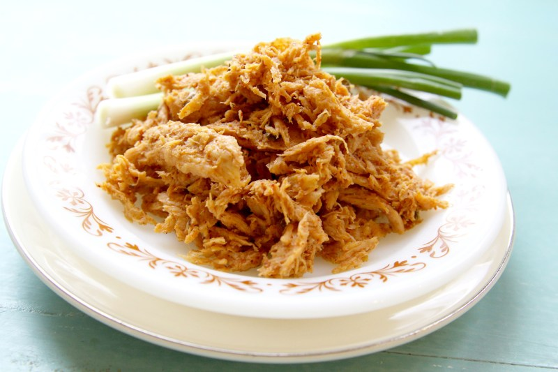 Shredded Soy Curls, gluten-free and vegan-juliehasson.com