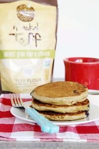 teff flour, gluten-free oat flour, vegan