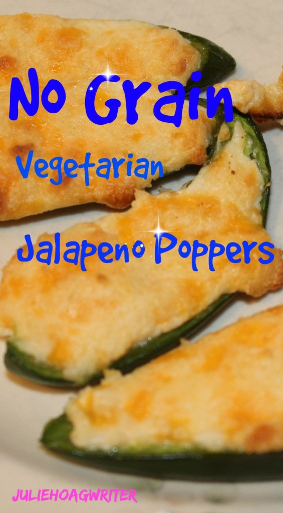 No Grain Jalapeno Poppers with three cheeses