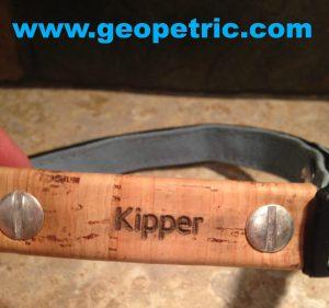 Geopetric Pet collar closeup
