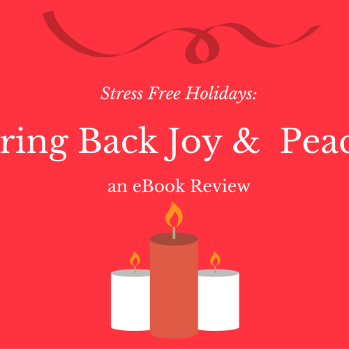Stress Free Holidays: Bring Back Joy & Peace eBook Review