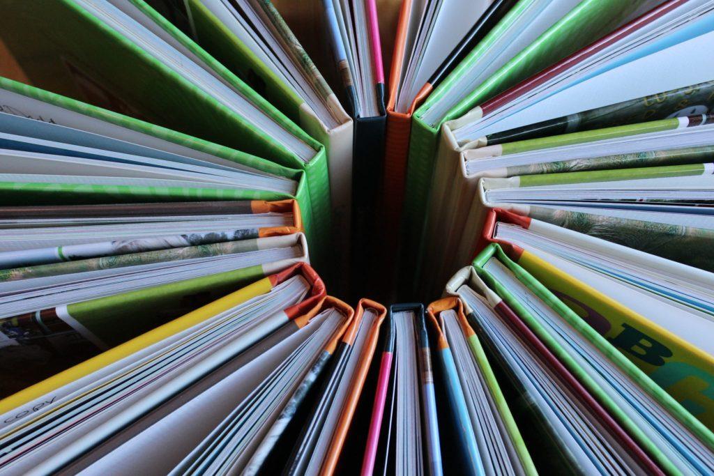 Circle of Shutterfly scrapbooks