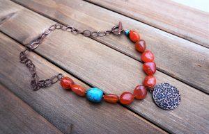 Beautiful handmade jewelry by SpiritJewell. A mompreneur shop.
