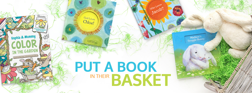 Personalized books for Easter.
