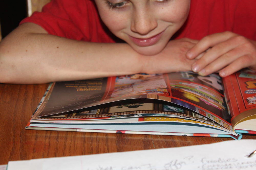 A child feels special to have his own personalized book. A fun way to spend time with your child and the added bonus of his name and pictures throughout the book adds to the fun.
