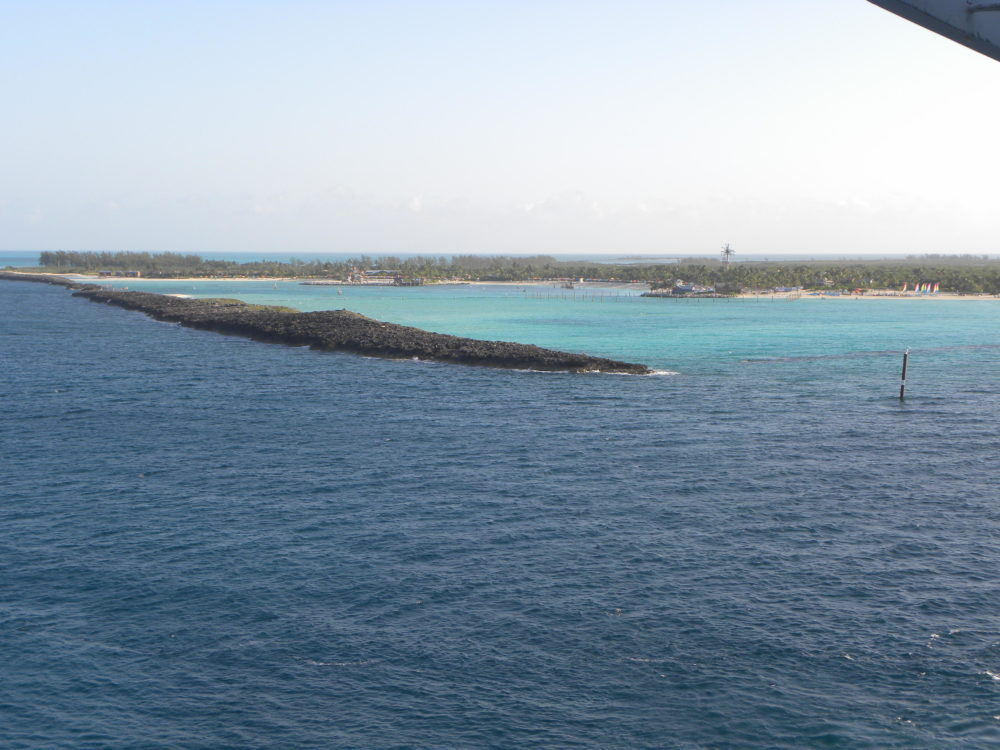 Arrival at Castaway Cay Disneys private exclusive island