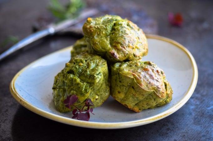 madmuffins med spinat