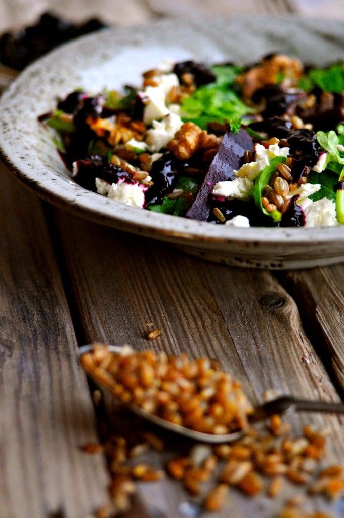 Lækker salat med spinat | www.juliekarla.dk