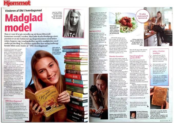 Interview med Ugebladet Hjemmet